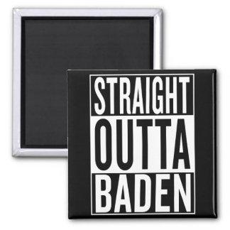 Imán outta recto Baden