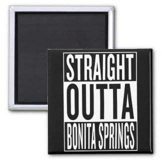 Imán outta recto Bonita Springs