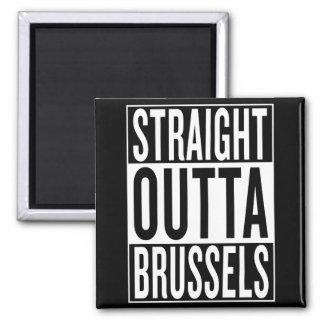 Imán outta recto Bruselas