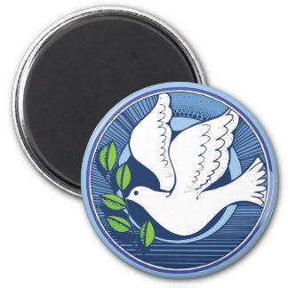 Imán Paloma de la paz