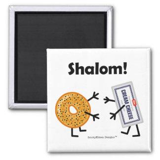 Imán ¡Panecillo y queso cremoso - Shalom!