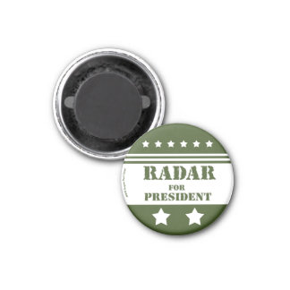Imán Para presidente Radar