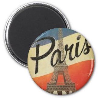 Imán París Francia Vintage