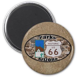 Imán Parques históricos Arizona de la ruta 66 de los