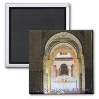 Iman  Patio de los Leones, Alhambra, Granada Imanes