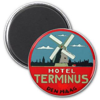 Imán Pegatina holandés del viaje del hotel