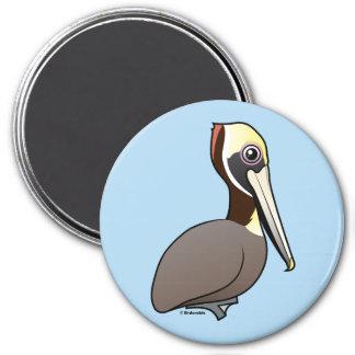 Imán Pelícano de Birdorable Brown
