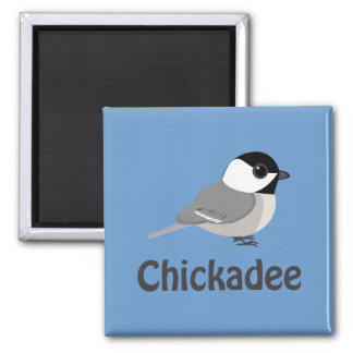 Imán Pequeño Chickadee lindo