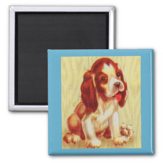 Imán pequeño perrito lindo del beagle