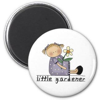 Imán Pequeños camisetas y regalos del jardinero