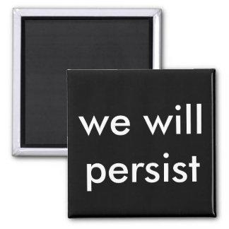 Imán persistiremos
