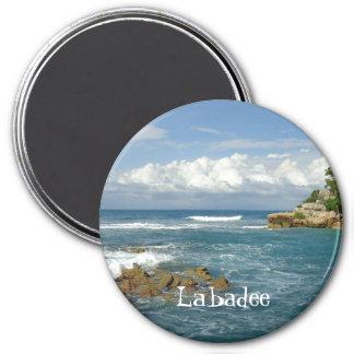 Imán Personalizado del paisaje marino de Labadee