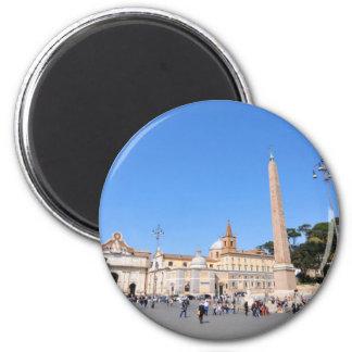 Imán Piazza del Popolo, Roma, Italia
