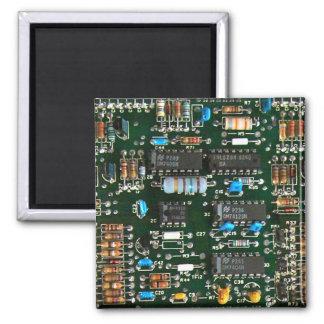 Imán Placa de circuito impresa electrónica del