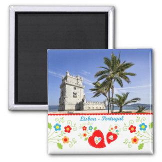 Imán Portugal en fotos - torre de Belém