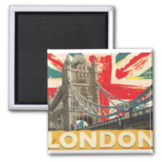 Imán Poster de Londres del vintage