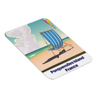 Iman Poster del viaje de Francia de la isla de
