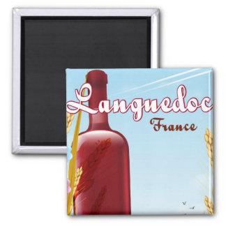 Imán Poster del viaje de Languedoc Francia