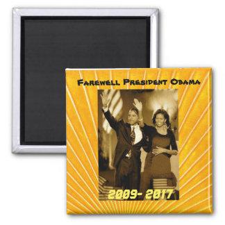 Imán Presidente Obama y primera señora Michelle Obama