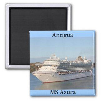 Imán Primer del barco de cruceros del ms Azura en
