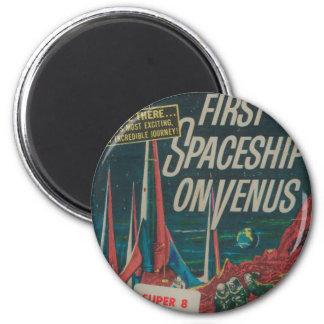 Imán Primera nave espacial en la película del Scifi del