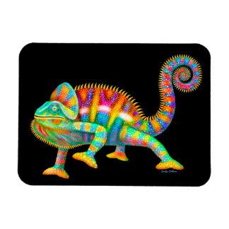 Imán psicodélico del camaleón de la pantera