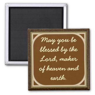 Imán Puede usted ser bendecido por el señor