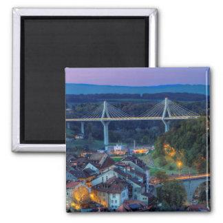 Imán Puente de Poya y de Zaehringen, Fribourg, Suiza