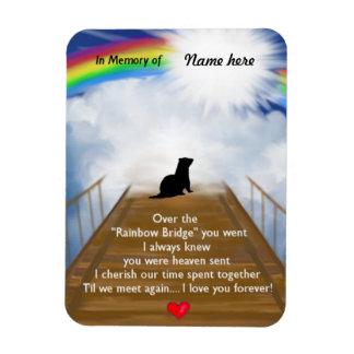 Iman Puente del arco iris para los hurónes