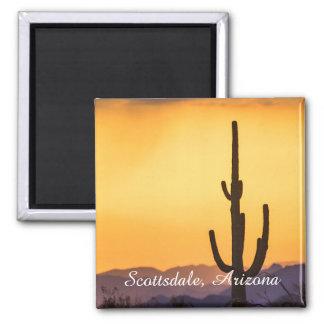 Imán Puesta del sol de Scottsdale antes de la tormenta