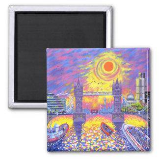 Imán Puesta del sol: Piscina de Londres 2013