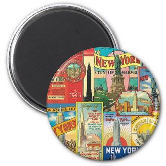 Imán Rascacielos de New York