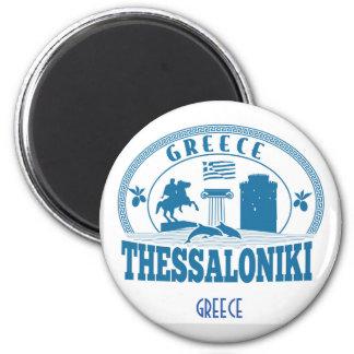 Imán Recuerdo del viaje de Salónica
