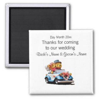 Imán Recuerdos del boda, regalos, sorteos para las