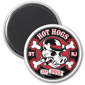 Imán redondo caliente de Hogs™