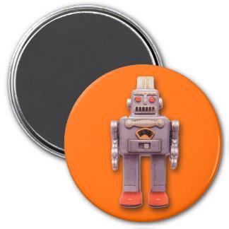 Imán redondo del robot del juguete