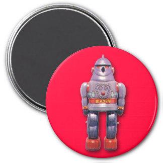 Imán redondo del robot japonés del juguete