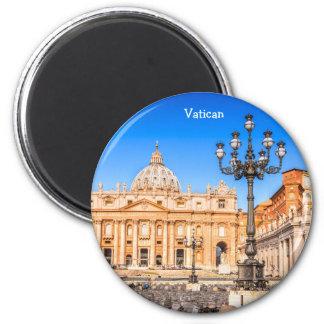 Imán redondo Vatican