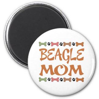 Imán Regalo del mascota del perro de la mamá del beagle