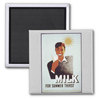 Imán Regalos y camisetas de la leche cruda