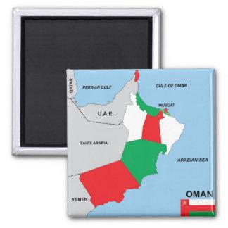 Imán región política del distrito de la bandera del