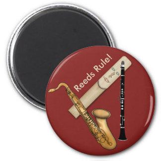 Imán Regla de instrumentos de lámina para el saxofón y