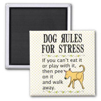 Imán Reglas del perro para la tensión