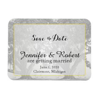 Iman Reserva cubierta de musgo gris amarilla del boda