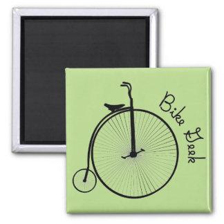 Imán retro de la bici - regalo para los amantes de