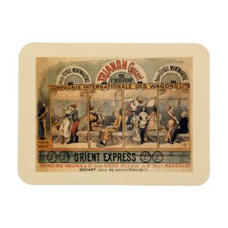 Imán Revista musical expresa París de 1896 Oriente