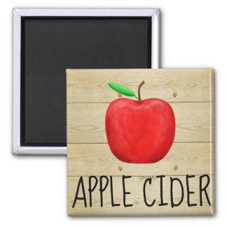 Imán Rojo Apple de la sidra de Apple