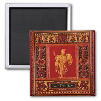 Imán romano antiguo del soldado