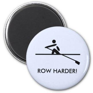 Imán Rowers de motivación más duros de la fila