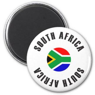 Imán Rueda de la bandera de Suráfrica